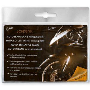 screenix - Motorrad - Reinigung und Pflege