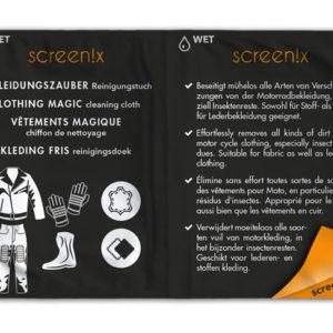 screenix - Bekleidung - Leder Reinigung und Pflege